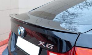 Спойлер на BMW x6 e71