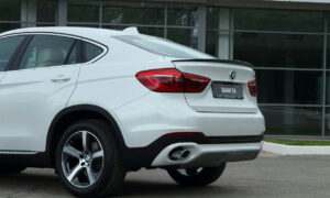 лип Спойлер на BMW x6(f16)