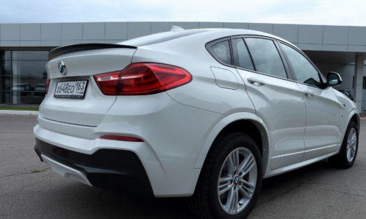 Спойлер на BMW x4(f26)
