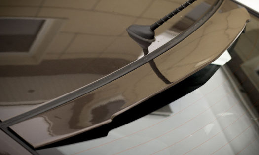 Козырек на заднее стекло Kia Rio 3