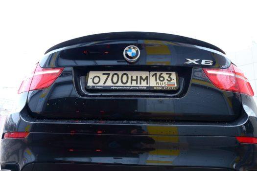 Спойлер на BMW x6(e71,e72)