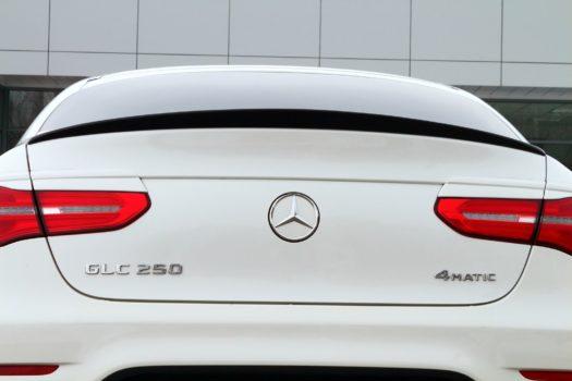 Спойлер на Mercedes-Benz GLC coup