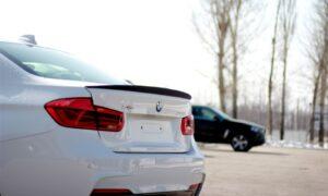 лип Спойлер BMW-3 f30 пластик