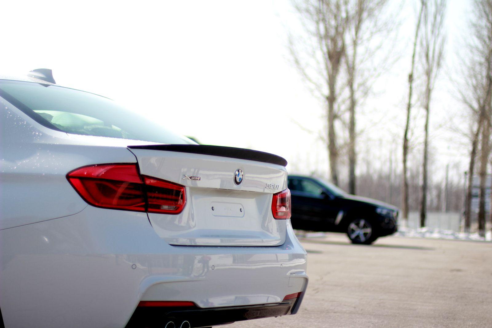 Спойлер Movery BMW-3(f30)