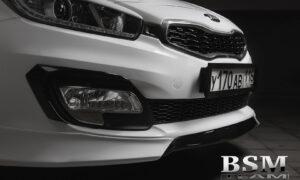 Серпы на передний бампер для Kia Pro Ceed до рестайлинг