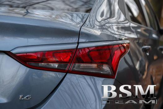 Ресницы задние для Hyundai Solaris 2