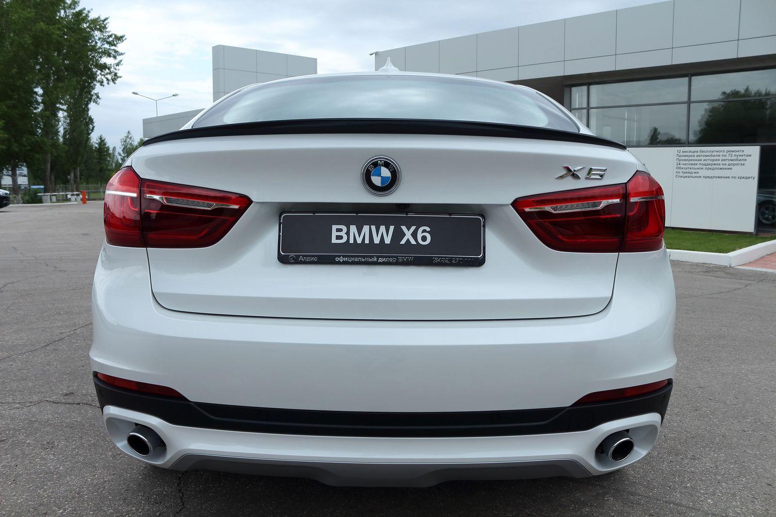 Спойлер на BMW x6(f16)