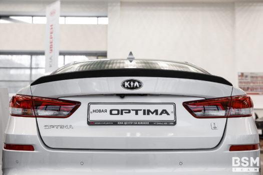 Спойлер для KIA Optima 4 (JF)