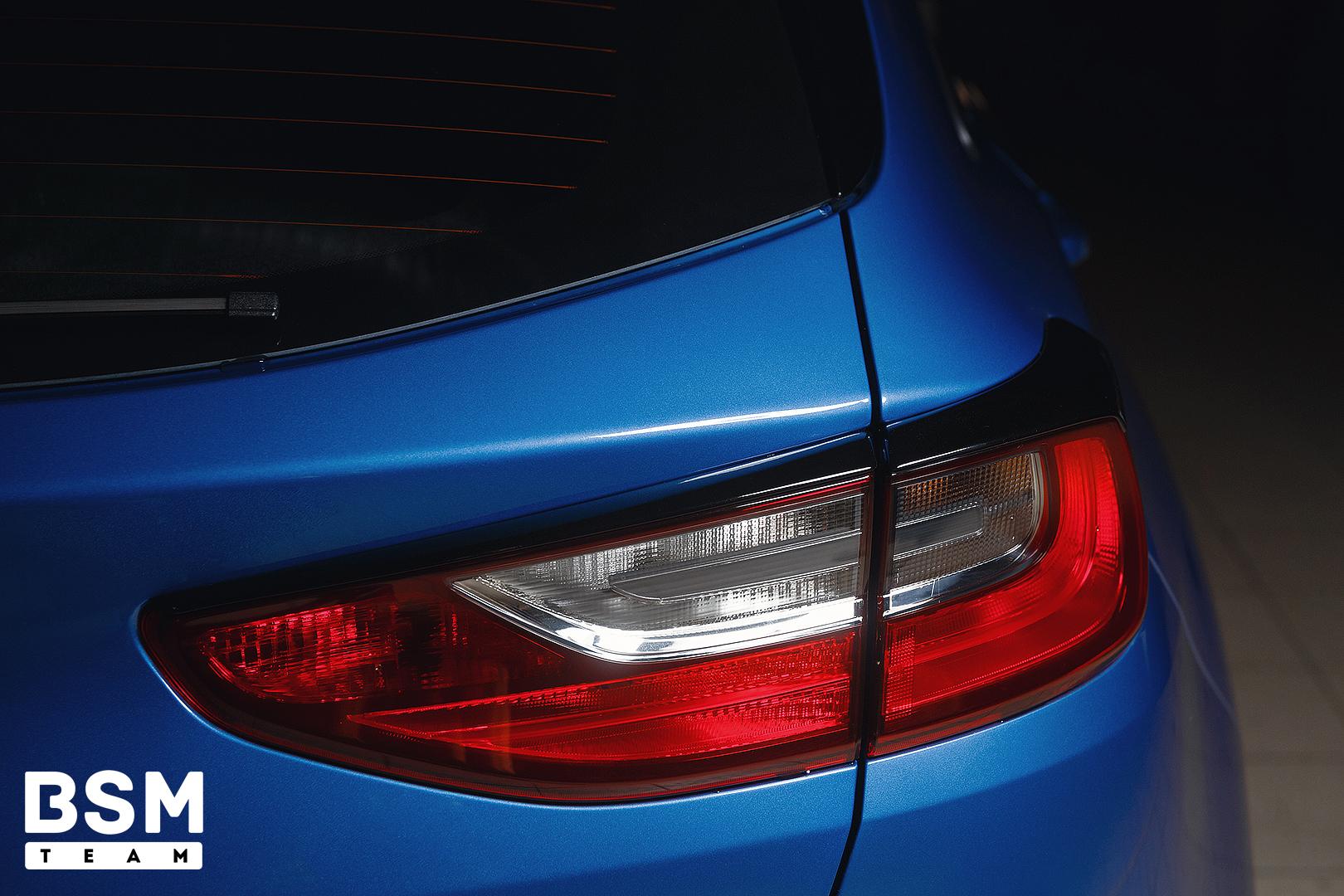 Ресницы на задние фонари для Kia Ceed CD