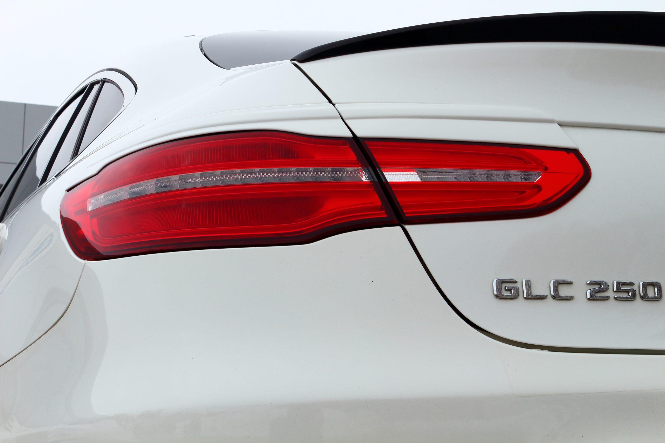 Реснички (накладки) задние фонари Mercedes-Benz GLC coupe