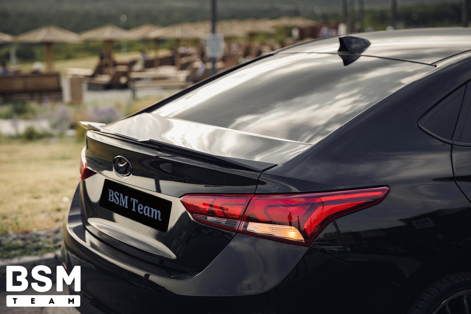Спойлер для Hyundai Solaris 2 2017-