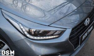 Ресницы широкие для Hyundai Solaris 2
