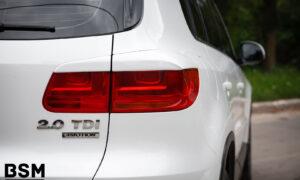 Ресницы задние рестайлинг для Volkswagen Tiguan