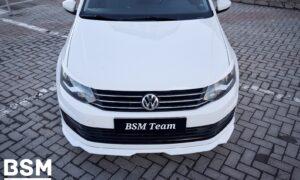 Сплиттер передний VW polo